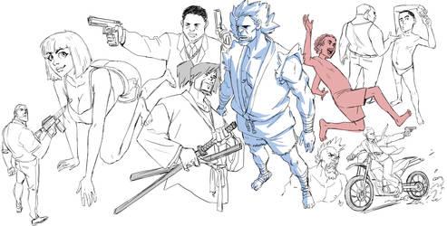 morning doodles by ifesinachi