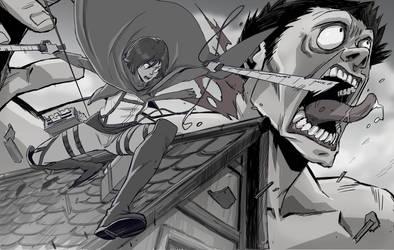 MIKASA slaughter by ifesinachi