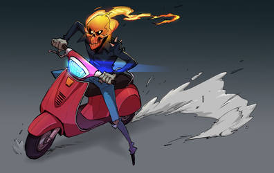 Ghost faced rider by ifesinachi