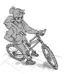 Warmup bike Chick