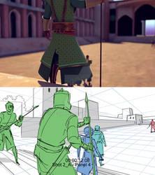 Storyboard vs final film comparison 2
