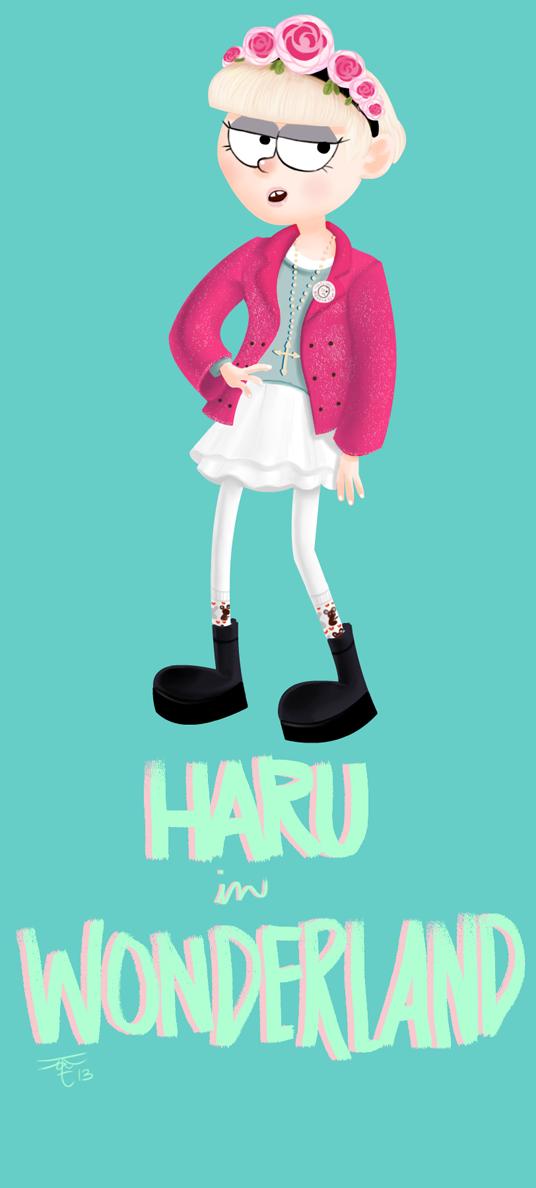 Haru in Wonderland