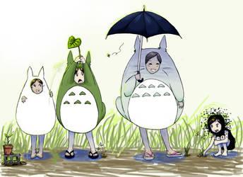 . . . Totoro Memories . . . by Kichan-3