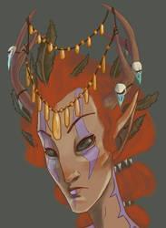 Bosmer Head Decorations. by Litill-Alfrinn
