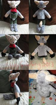 Fox McCloud Plush