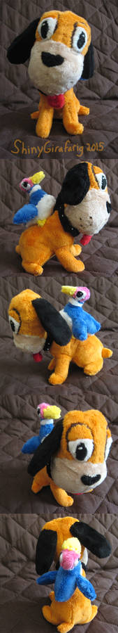 Duck Hunt Dog and Duck Plushies