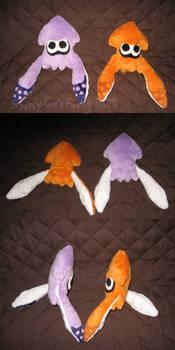 Splatoon Squid Plushies