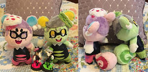 Cece and Viche Plushies