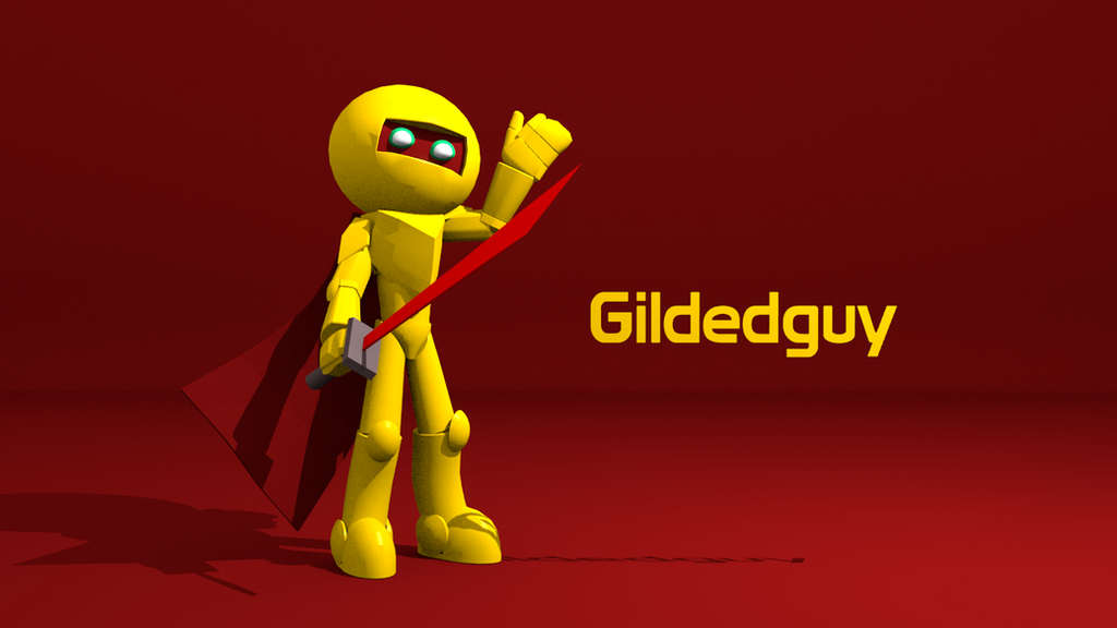 Gildedguy 3D model by ShadowElite217