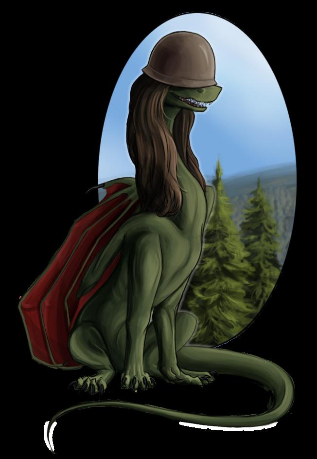 Dragon Soldier by Virllanda