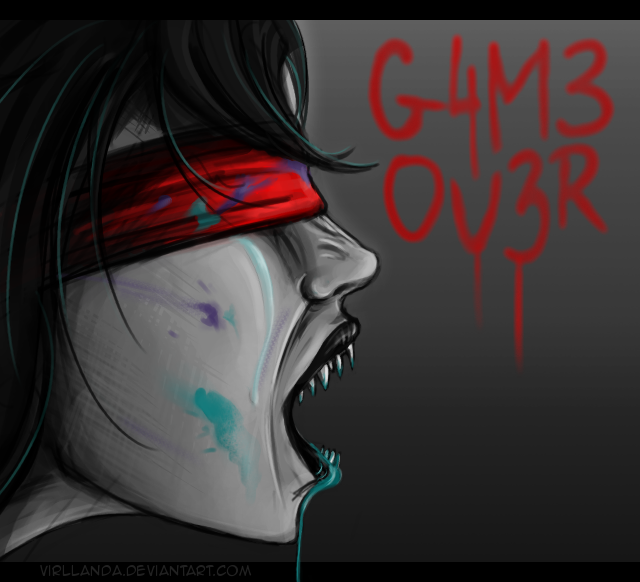 Game over. by Virllanda
