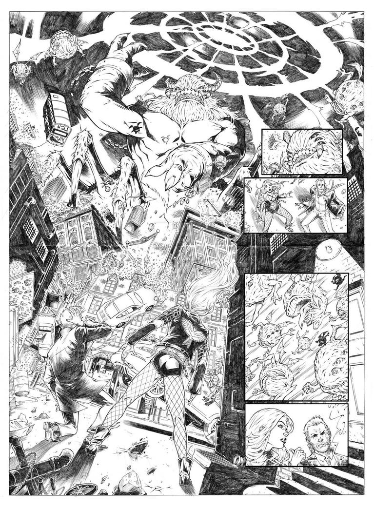 DC Talent Workshop 2017 more sample pages by augustustodopoderoso