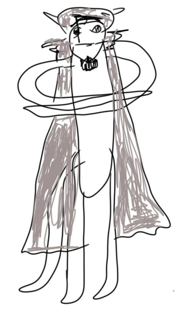Charayear/WWFBTF:Shadowfang Moonsoul,(Human) by mariajogato1996