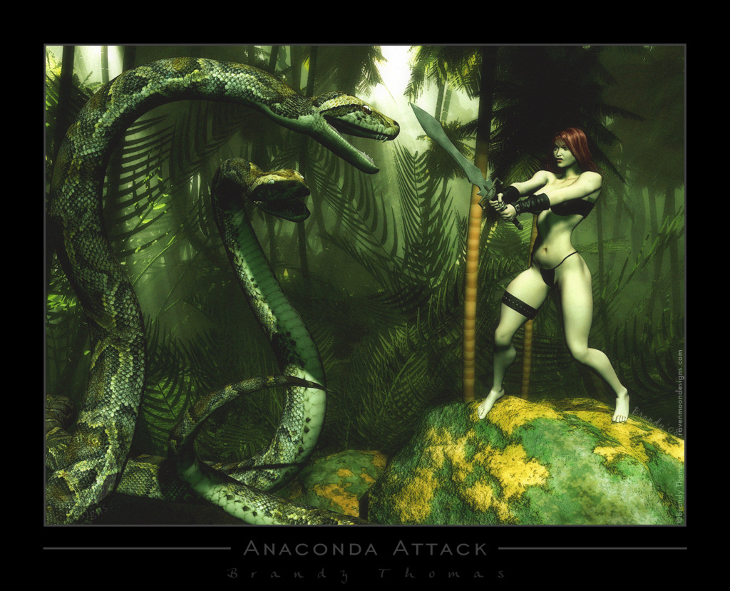 Anaconda Attack by RavenMoonDesigns on DeviantArt