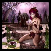 Pixie Lilies by RavenMoonDesigns