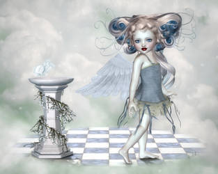 Angelic Whimsy by RavenMoonDesigns