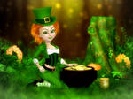 Wee Leprechaun Lass by RavenMoonDesigns
