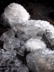 Icy Crystal Formations