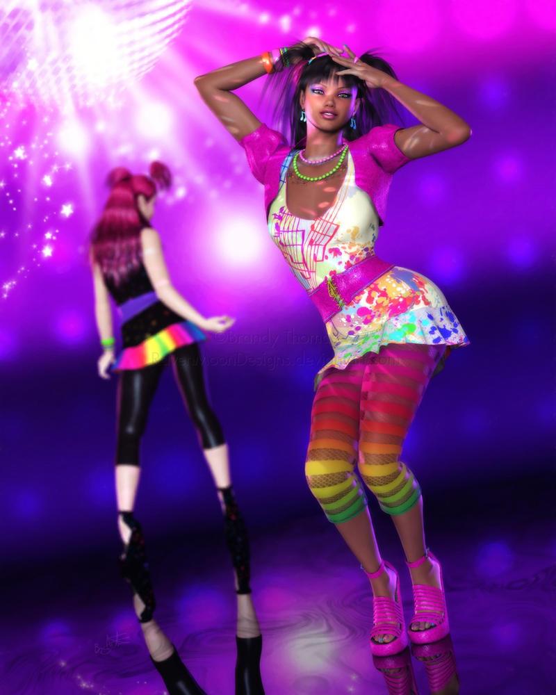 New Wave Dancin' by RavenMoonDesigns