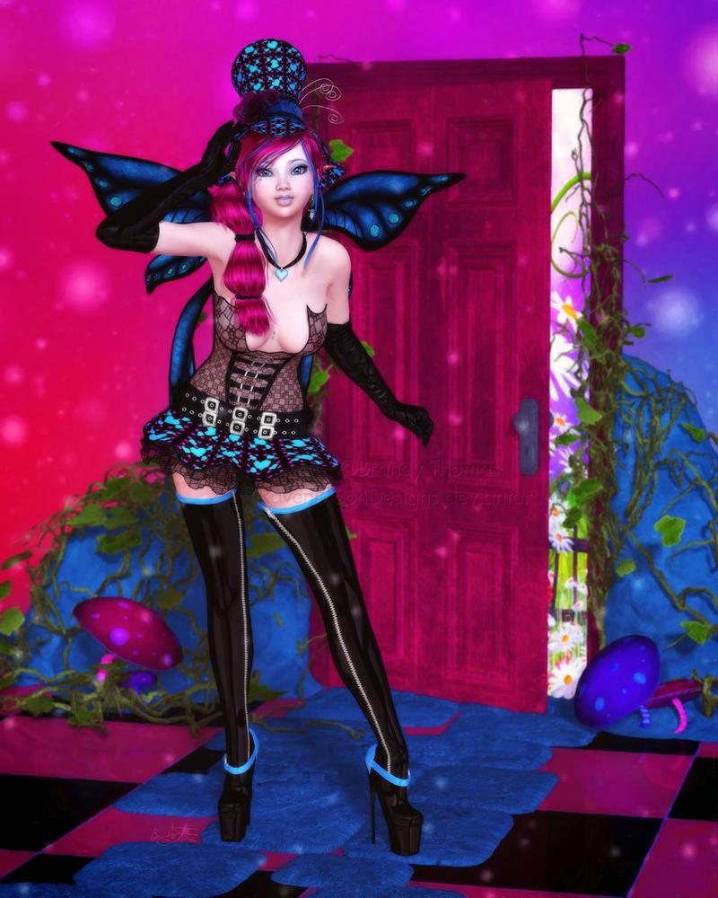 Doorway to Wonderland by RavenMoonDesigns
