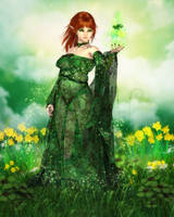 Magic of the Clover by RavenMoonDesigns