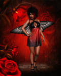 In The Rose Garden by RavenMoonDesigns