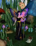Queen of the Toadstool Glen by RavenMoonDesigns