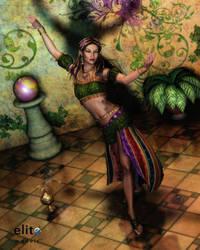 Seductive Danseur by RavenMoonDesigns