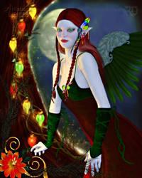 The Yuletide Angel by RavenMoonDesigns