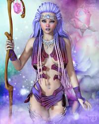 Elvish Rose by RavenMoonDesigns