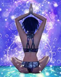 Achieving Zen by RavenMoonDesigns