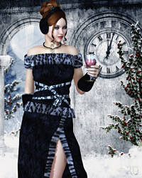 A Toast to the New Year by RavenMoonDesigns