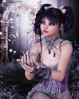 The Enchanting Butterflies by RavenMoonDesigns