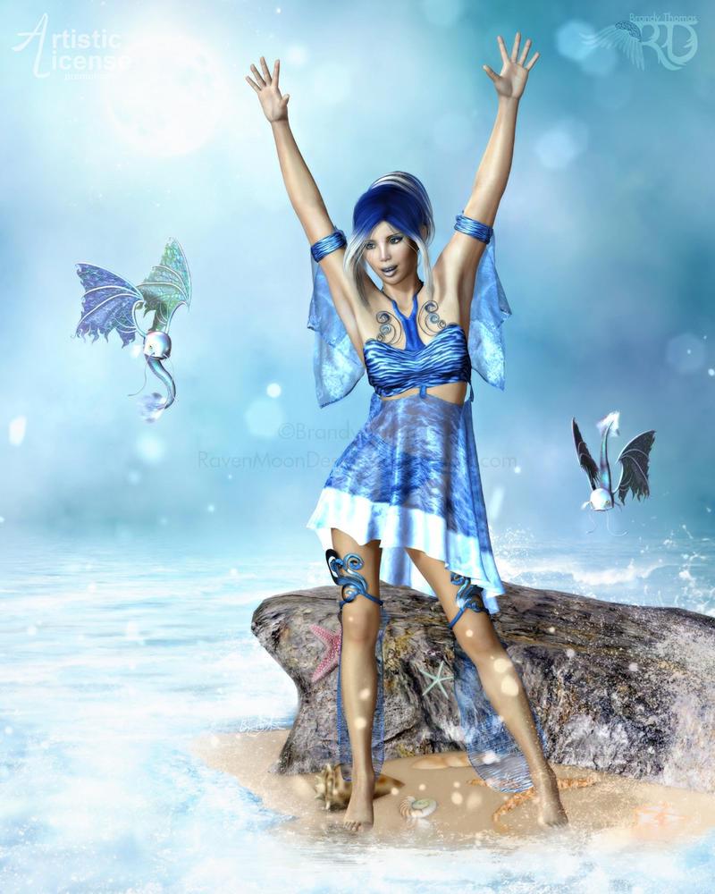 Summoning the Sea by RavenMoonDesigns