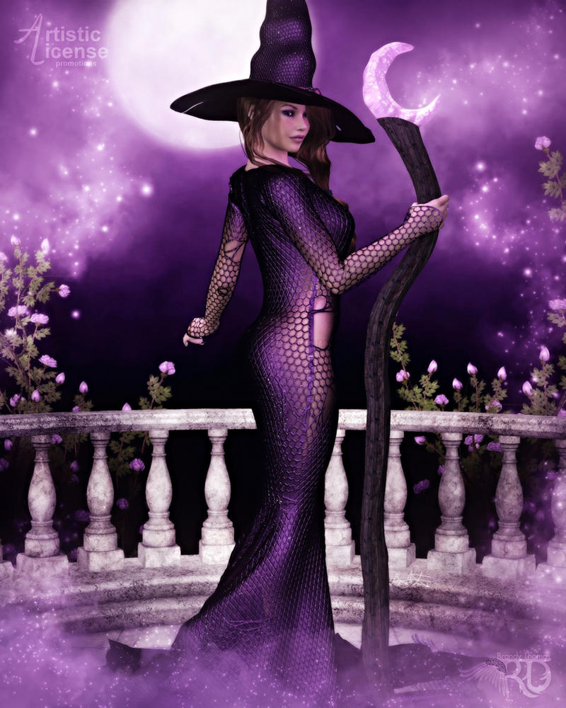 Beautiful Witchery by RavenMoonDesigns