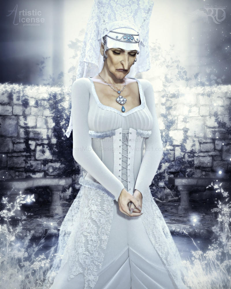 The Lady in White by RavenMoonDesigns