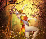 The Autumnal Dance by RavenMoonDesigns