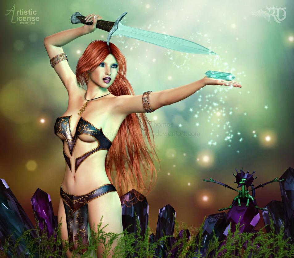 Enchanting Crystals by RavenMoonDesigns