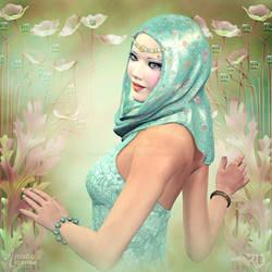 Oriental Grace by RavenMoonDesigns