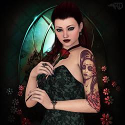 Elegant as a Rose by RavenMoonDesigns