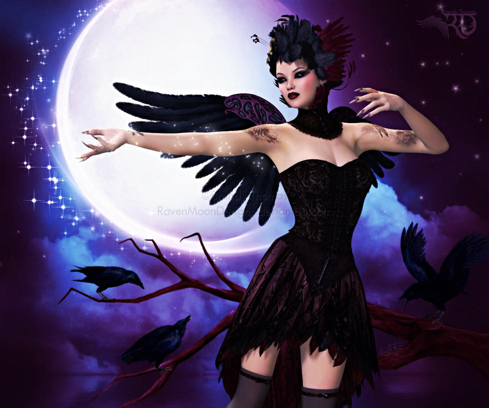 Enchantment of the Raven's Moon by RavenMoonDesigns
