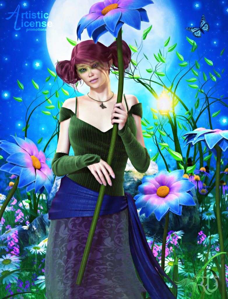Pixie of the Meadowlands by RavenMoonDesigns