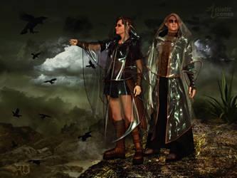 Interlocutors of the Dark Lands by RavenMoonDesigns