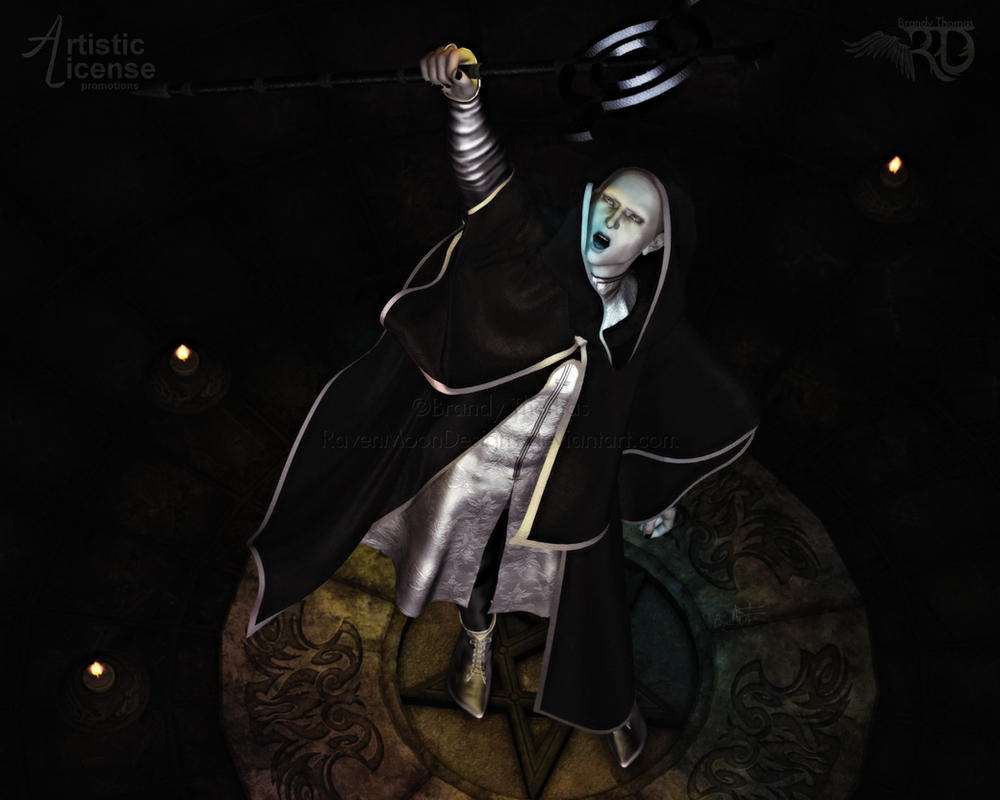 Summoner of Arcane Power by RavenMoonDesigns