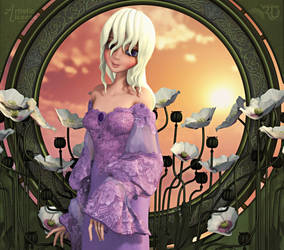 The Lady Amalthea by RavenMoonDesigns
