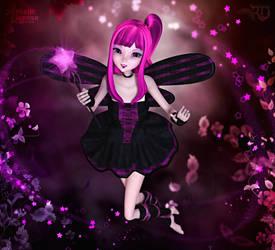 Sweet Starry Swirls by RavenMoonDesigns
