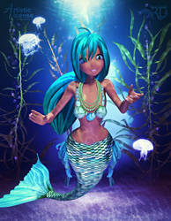 Pearl of the Sea by RavenMoonDesigns