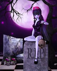 Mischief in the Moonlight by RavenMoonDesigns