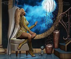 Missing the Moon by RavenMoonDesigns