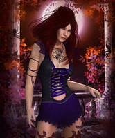 Contessa of the Arachnid by RavenMoonDesigns